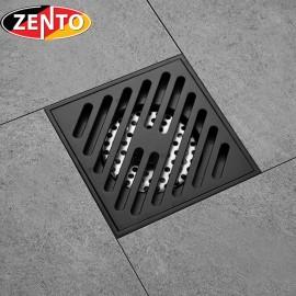Thoát sàn chống mùi Black series Zento ZT579-1B (120x120mm)